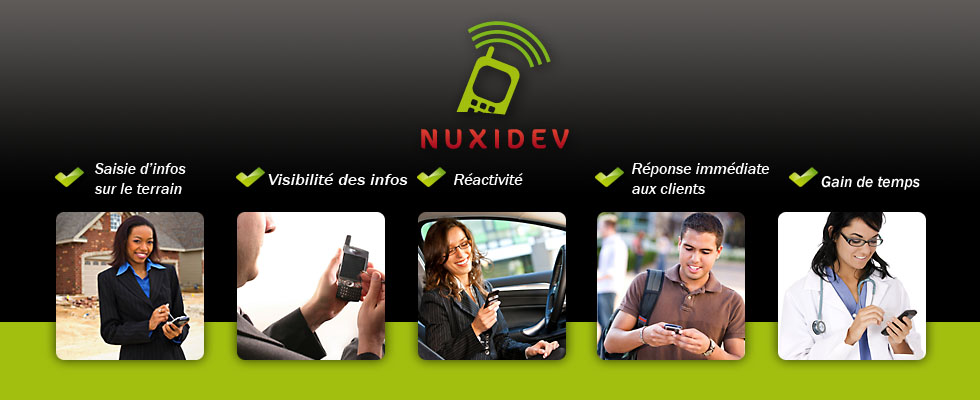 Nuxidev, generateur d'applications mobiles iPhone iPad Android